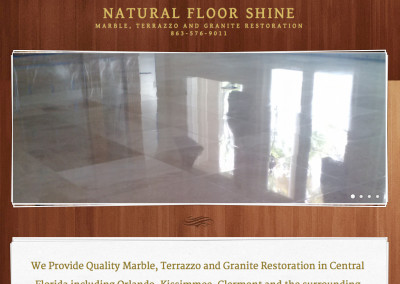 Natural Floor Shine