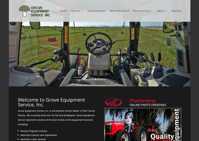 Grove Equipment Service, Inc.